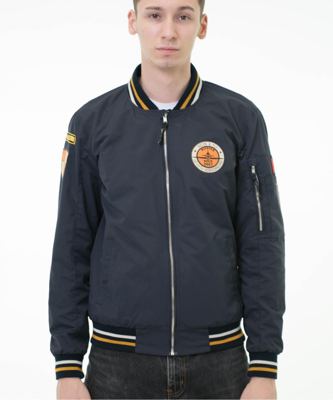 """Jacket """"Bomber"""" blue 5"""