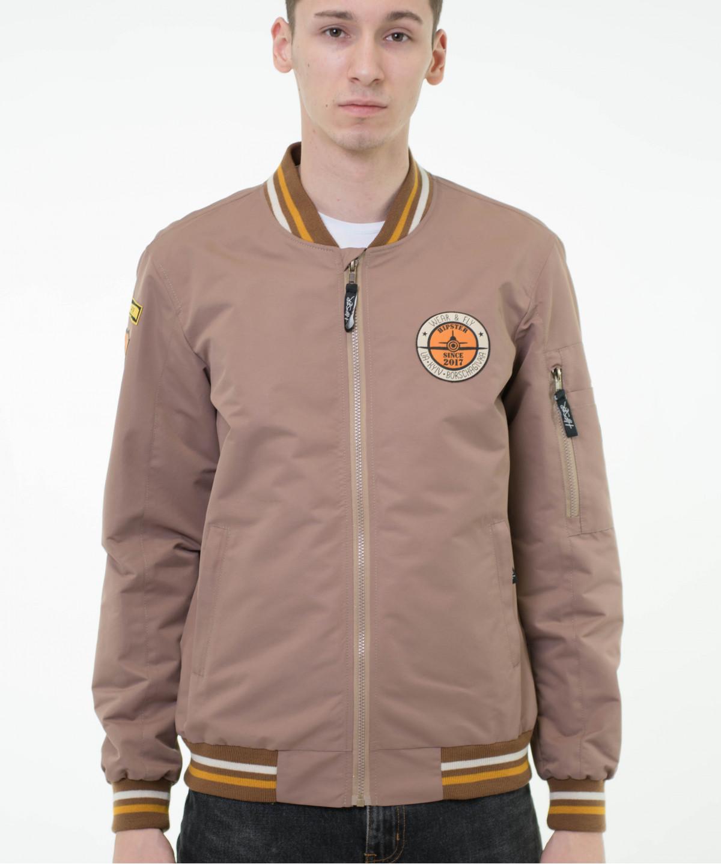 "Jacket ""Bomber"" Beige 11"