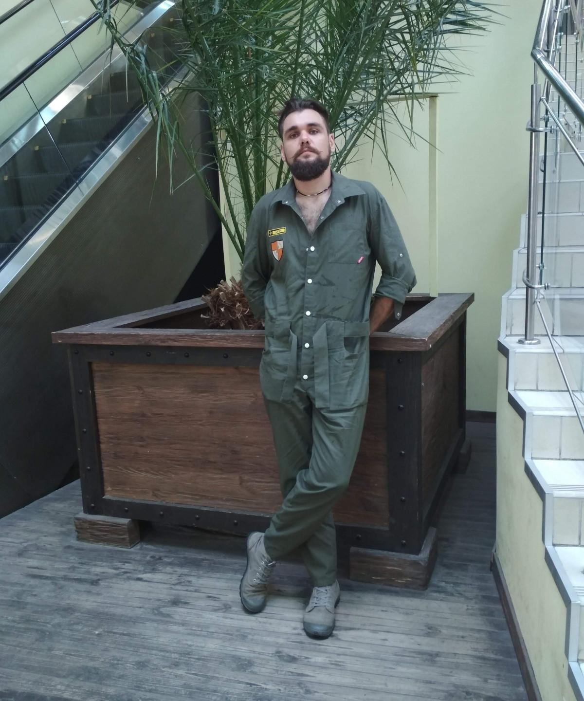 Overalls oliv